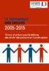 2005-2015 - 10 ans d'actions pour la défense des droits des personnes handicapées - application/pdf